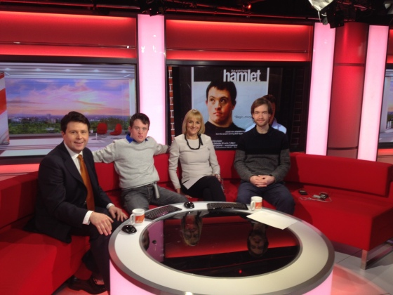 Wij and Tob on BBC Breakfast!